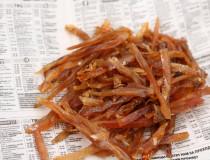 Соломка из филе Краснопёрки