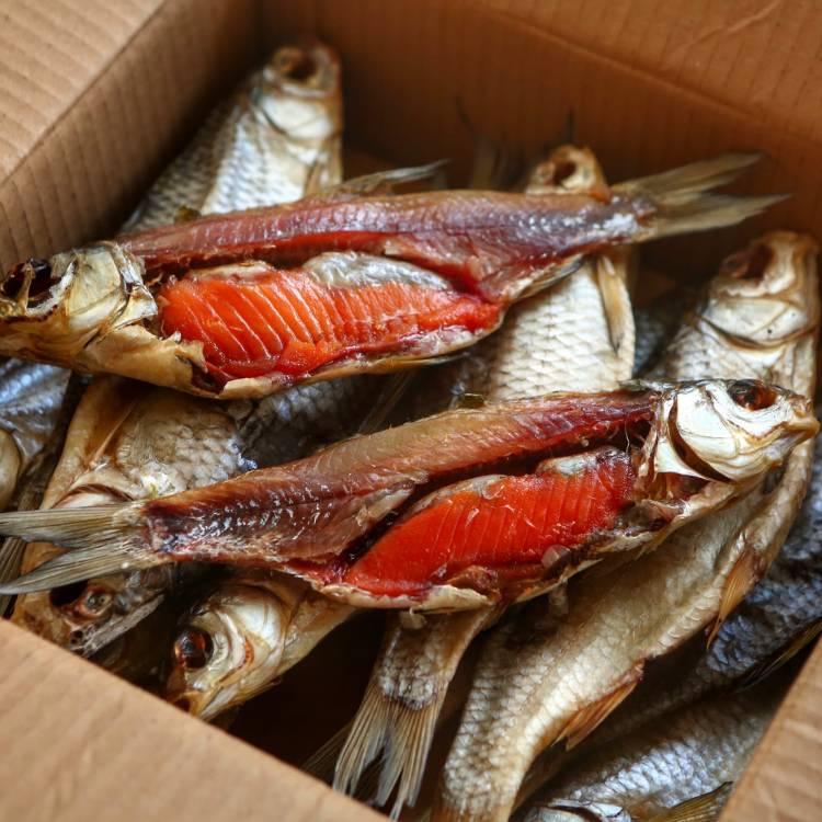Вяленая рыба - настоящий мужской деликатес